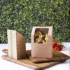 Tortilla / wrapi karp kraft paberist, pakis 500 tk