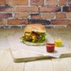 Vahatatud burgeri paber ( 250 x 330 mm), Roheline tee (Green Tree), pakis 1000 tk