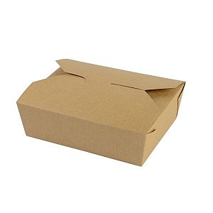Food carton No.5, 1050 ml (15.2 x 12.1 x 5 cm), 150 pcs per pack