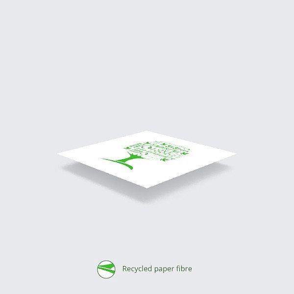 """Viena slāņa salvetes """"Green Tree"""" turētājiem no pārstrādāta un bez hlora balināta papīra, 330 mm, iesaiņots 250 gabali"""