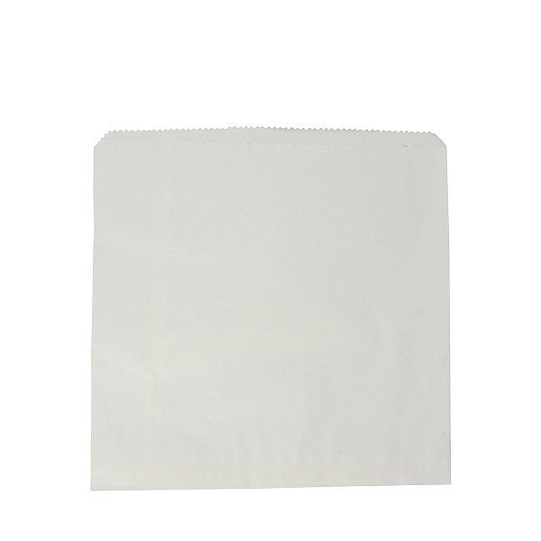 Lamedate valge kott taaskasutatud kraft paberist (215 x 215 mm) , pakis 1000 tk
