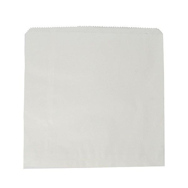 Recycled white kraft bag (254 x 254 mm), 1000 pcs per pack