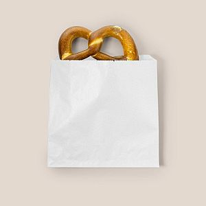 Lamedate valge kott taaskasutatud kraft paberist (254 x 254 mm) , pakis 1000 tk