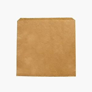 Recycled kraft bag (254 x 254 mm), 1000 pcs per pack