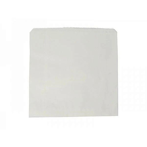 Recycled white kraft bag (304 x 304 mm), 500 pcs per pack