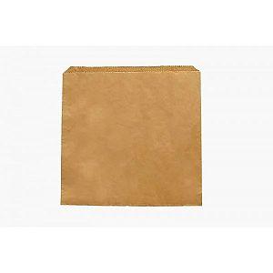 Plakans maisiņš no pārstrādāta maispapīra 300 x 300 mm, iesaiņots 500 gabali