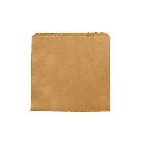 Plakans maisiņš no pārstrādāta maispapīra 180 x 180 mm, iesaiņots 1000 gabali