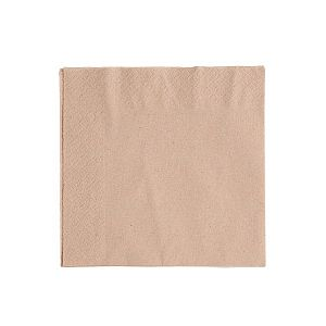 Divslāņu salvete, nebalināta, izgatavota no pārstrādāta papīra, 330 mm, iesaiņots 100 gabali