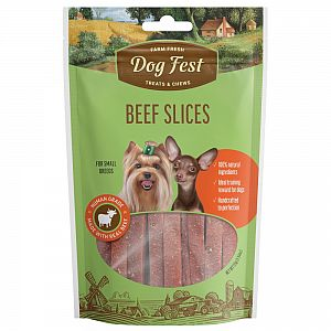 BEEF SLICES, 55g. For small breeds