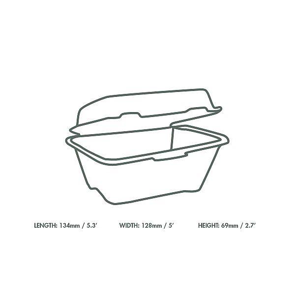Burgeri karp suhkruroost, 127 mm, pakis 50 tk