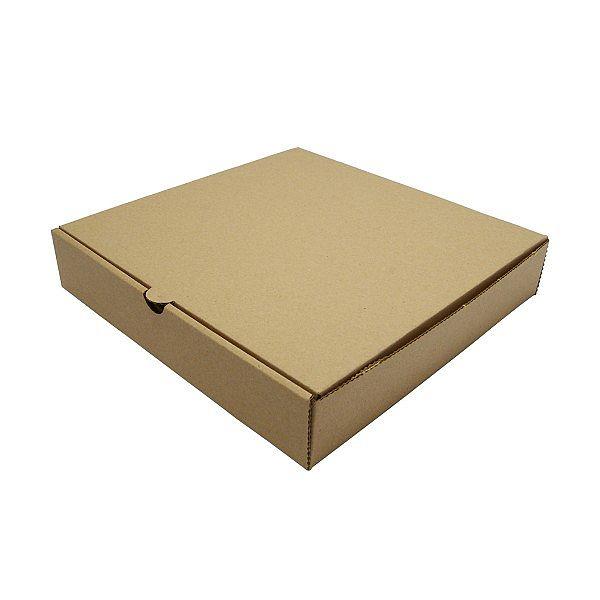 Pitsakarp kraft paberist, 228 mm, pruun, pakis 100 tk