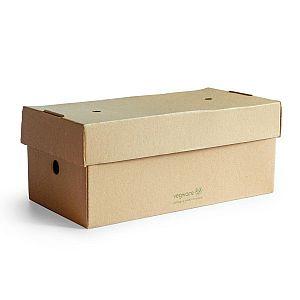 Premium Коробка для бургер-меню, 24.5 x 12cm, в пачке 100 шт