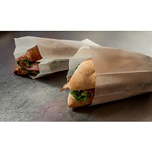 Hamburgeritaskud, pruund, 150 x 160 mm, pakis 100 tk