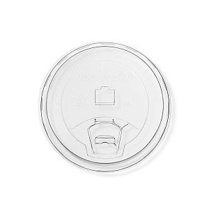 96-Series PLA sipping lid, 96-series, 50 pcs per pack