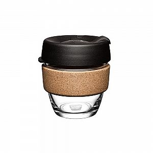 Keep Cup Brew Cork 8oz Black 240 ml , pakis 1 tk