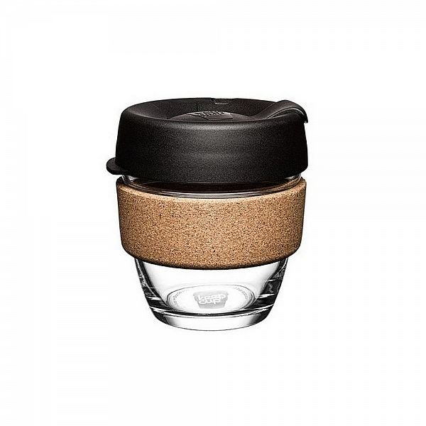 Keep Cup Brew Cork krūze, melna 240 ml (8oz)