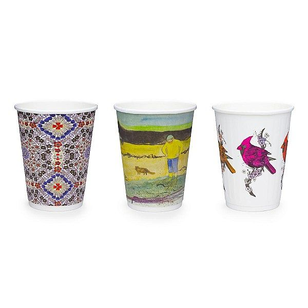 """Стакан """"Gallery"""" для горячих напитков, 360 мл, серия 89, в пачке 25 шт"""