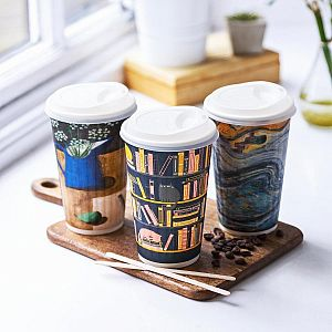 "Hot drink cup, 480 ml, ""Gallery"" 89-series, 25 pcs per pack"