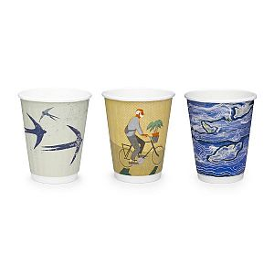 "Hot drink cup, 240 ml, ""Gallery"" 79-series, 25 pcs per pack"