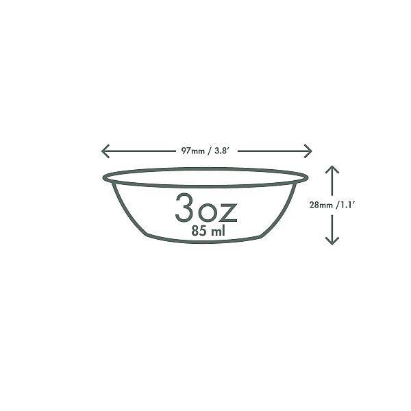 Külma topsi sisemus, PLA, 60 ml, 96-seeria, pakis 100 tk