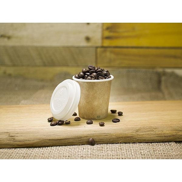 Brown kraft hot drink cup, 120 ml,629-series, 50 pcs per pack