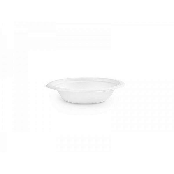 Zupas šķīvis no cukurniedrēm, paplatināts 360 ml, iesaiņots 50 gabali