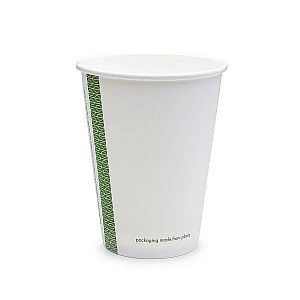 White hot drink cup, 360 ml, 89-series, 50 pcs per pack