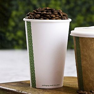 White hot drink cup, 480 ml, 89-series, 50 pcs per pack