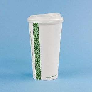 White hot drink cup, 600 ml, 89-series, 50 pcs per pack