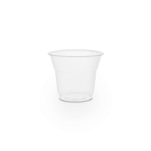 Aukstiem dzērieniem paredzēta glāze no kukurūzas cietes, 150 ml, 76. sērija, iesaiņots 50 gabali