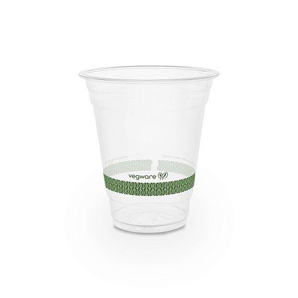 Aukstiem dzērieniem paredzēta glāze no kukurūzas cietes, 360 ml, 96. sērija, iesaiņots 50 gabali
