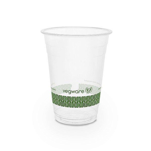 Aukstiem dzērieniem paredzēta glāze no kukurūzas cietes, 480 ml, 96. sērija, iesaiņots 50 gabali