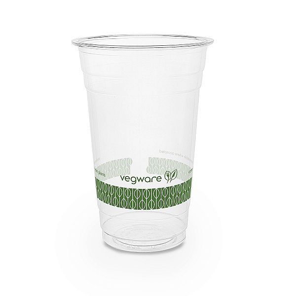 PLA cold cup, 600 ml, 96-series, 50 pcs per pack