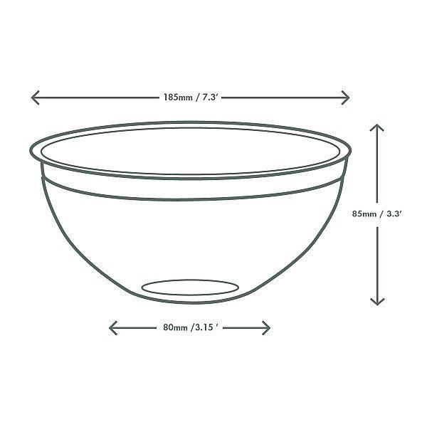 BON APPETIT salatikauss, PLA, 960 ml, 185 seeria, pakis 75 tk