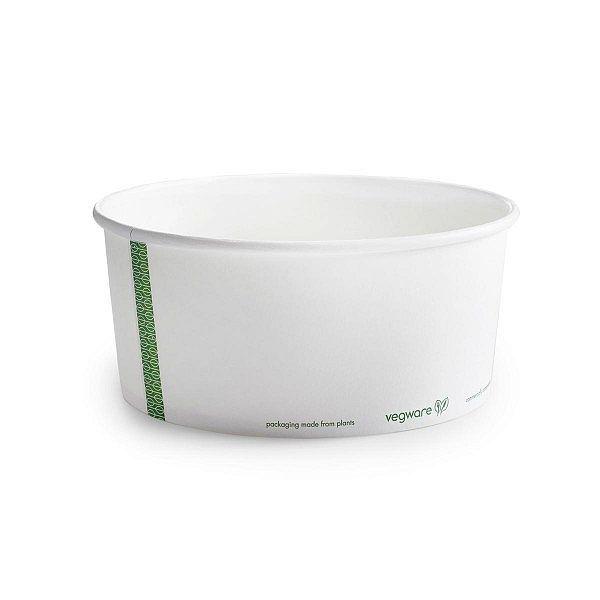 Toidukauss PLA-vooderdatud paberist, 1440 ml, 185-seeria, pakis 50 tk