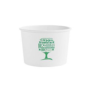 Soup container, 480 ml, Green Tree, 115-series, 25 pcs per pack