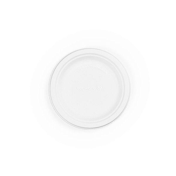 Тарелка круглая из сахарного тростника, 150 мм, в пачке 125 шт
