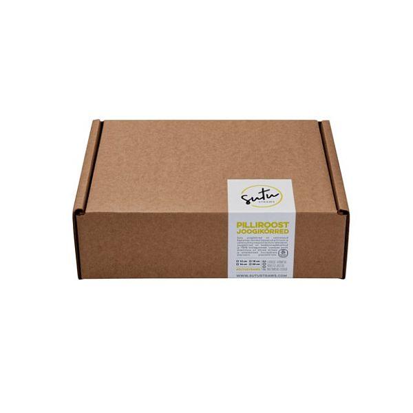 Disposable straws, 18 cm, 200 pcs per pack