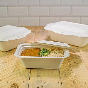 Sugarcane/bagasse gourmet lid, size 3, 50 pcs per pack