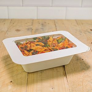 Gourmet lid with window, size 3, 600 pcs per pack