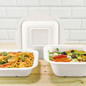 Gourmet container base, 960 ml (fits lid 4), 50 pcs per pack