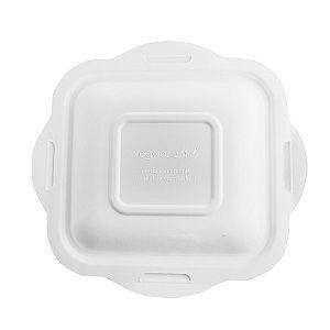 Sugarcane/bagasse gourmet lid, size 4, 50 pcs per pack