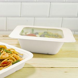 Gourmet lid with window, size 4, 600 pcs per pack