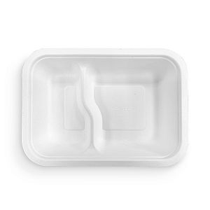 2 compartment gourmet base (fits lid 5), 50 pcs per pack