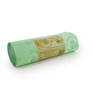 Completely compostable liner 80L, 20 pcs per pack