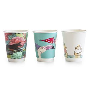 "Hot drink cup, 240 ml, ""Gallery"" 79-series, 25 pcs per pack, 25 pcs per pack"
