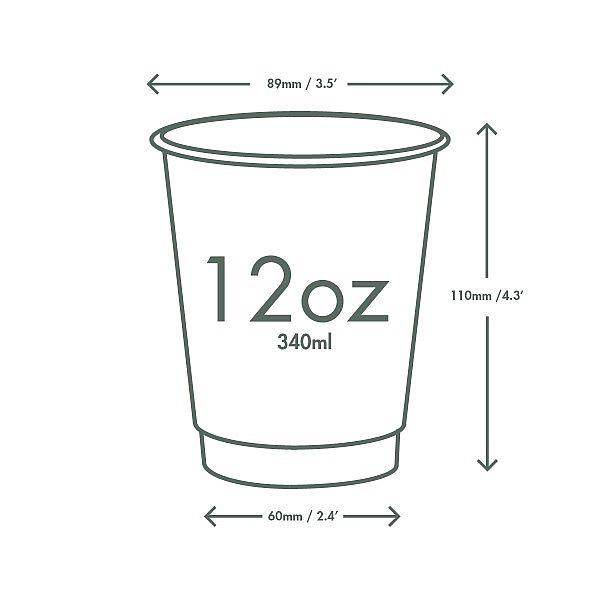 Стакан «Gallery» для горячих напитков , 360 мл, серия 79, в пачке 25 шт