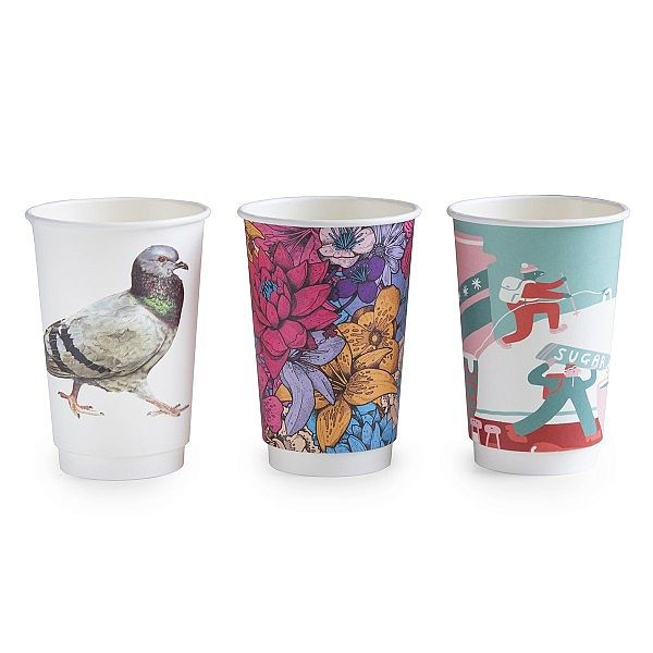 "Hot drink cup, 480 ml, ""Gallery"" 89-series, 25 pcs per pack, 25 pcs per pack"
