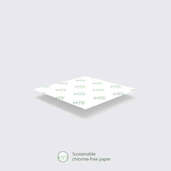 Жиростойкая крафт-бумага из переработанного сырья, 380 x 275 мм, в пачке 1000 шт