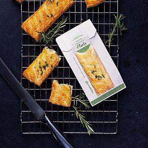 Пакет для горячей еды из белого пергамина с окошком из кукурузного крахмала, 100 х 150 х 250 мм, в пачке 1000 шт
